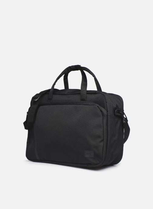 Laptoptaschen Herschel Gibson schwarz schuhe getragen