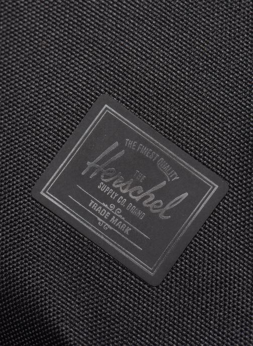 Laptoptaschen Herschel Gibson schwarz ansicht von links