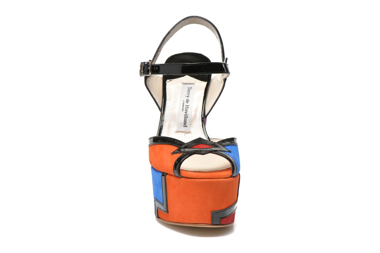 Sandali e scarpe aperte Terry de Havilland JACQUETTA Multicolore modello indossato
