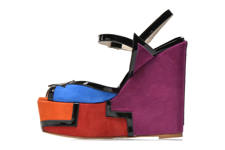 Sandali e scarpe aperte Terry de Havilland JACQUETTA Multicolore immagine frontale