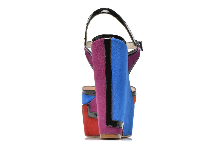 Sandali e scarpe aperte Terry de Havilland JACQUETTA Multicolore immagine destra