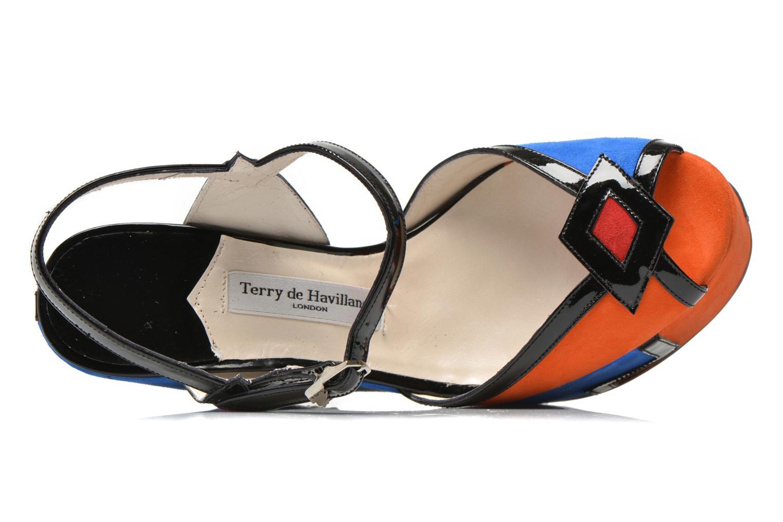 Sandali e scarpe aperte Terry de Havilland JACQUETTA Multicolore immagine sinistra
