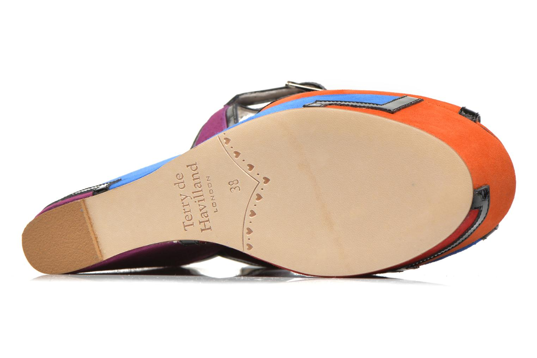 Sandali e scarpe aperte Terry de Havilland JACQUETTA Multicolore immagine dall'alto