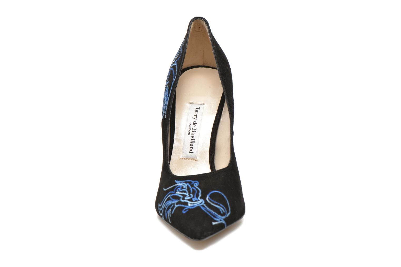 Escarpins Terry de Havilland DRAGON STILETTO Noir vue portées chaussures