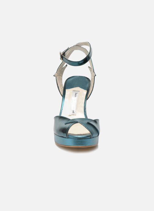 Sandales et nu-pieds Terry de Havilland MARISSA Bleu vue portées chaussures