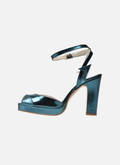 Sandales et nu-pieds Terry de Havilland MARISSA Bleu vue face