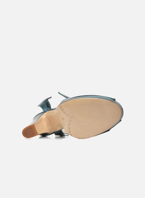 Sandales et nu-pieds Terry de Havilland MARISSA Bleu vue haut