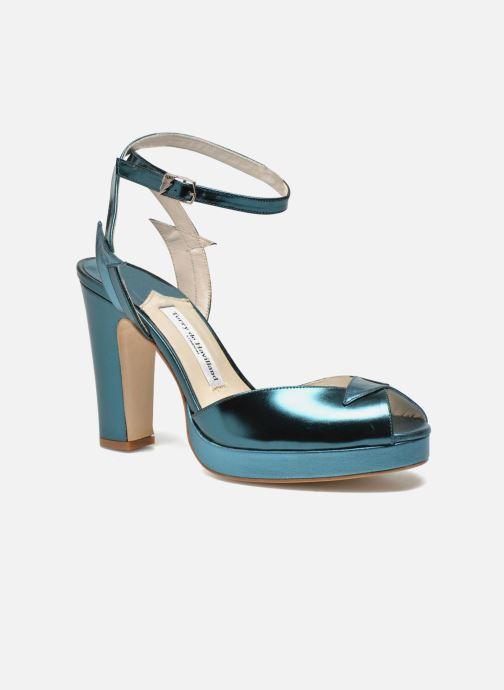 Sandales et nu-pieds Terry de Havilland MARISSA Bleu vue détail/paire