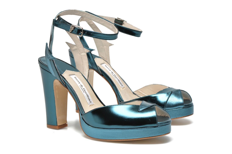Sandales et nu-pieds Terry de Havilland MARISSA Bleu vue 3/4