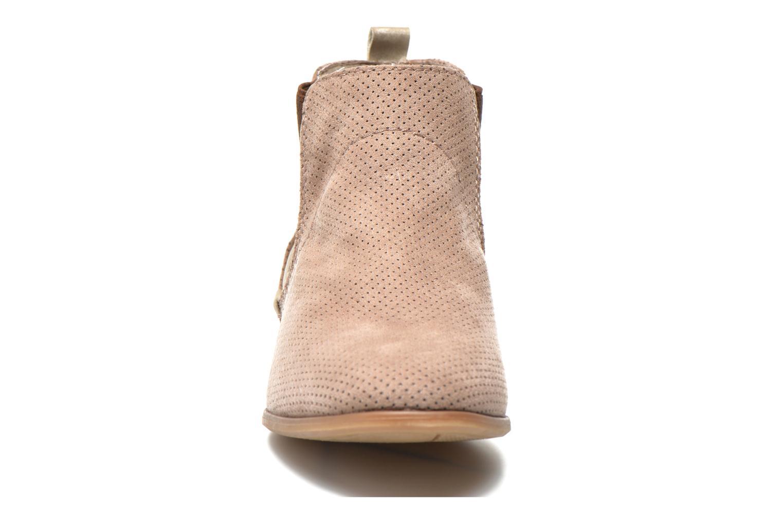 Bottines et boots Jana shoes Reva Beige vue portées chaussures