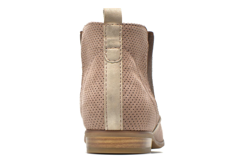 Bottines et boots Jana shoes Reva Beige vue droite