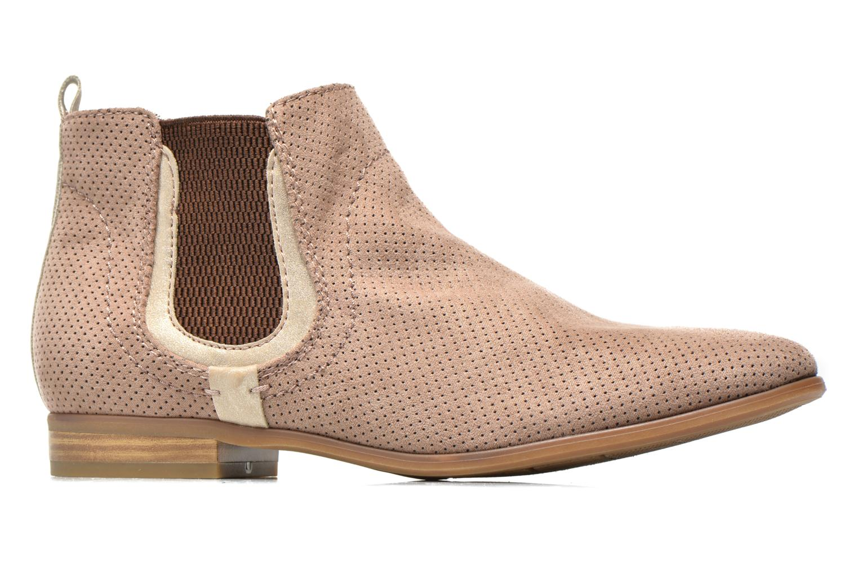 Bottines et boots Jana shoes Reva Beige vue derrière