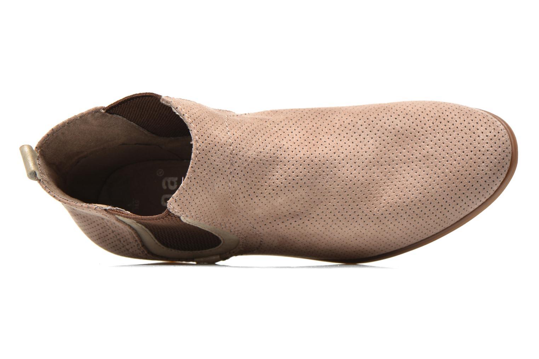 Bottines et boots Jana shoes Reva Beige vue gauche