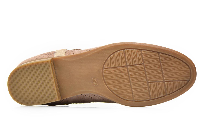 Bottines et boots Jana shoes Reva Beige vue haut