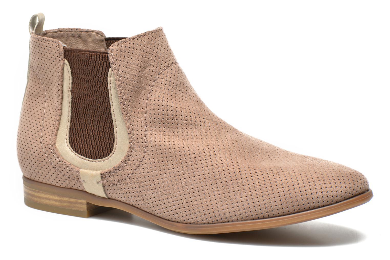Bottines et boots Jana shoes Reva Beige vue détail/paire