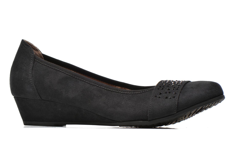 Zapatos de tacón Jana shoes Dolina Negro vistra trasera