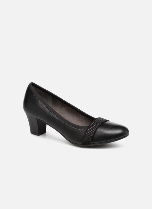 Escarpins Jana shoes Balana Noir vue détail/paire