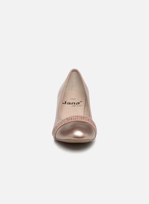 Escarpins Jana shoes Balana Rose vue portées chaussures