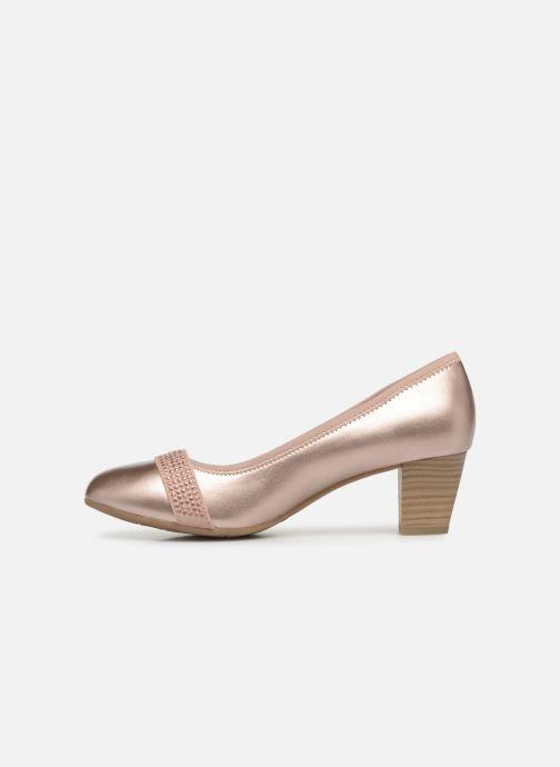 Pumps Jana shoes Balana rosa ansicht von vorne