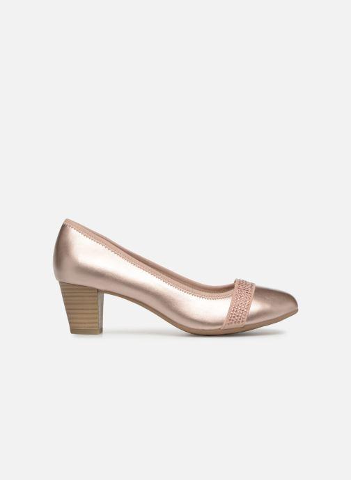 Pumps Jana shoes Balana rosa ansicht von hinten