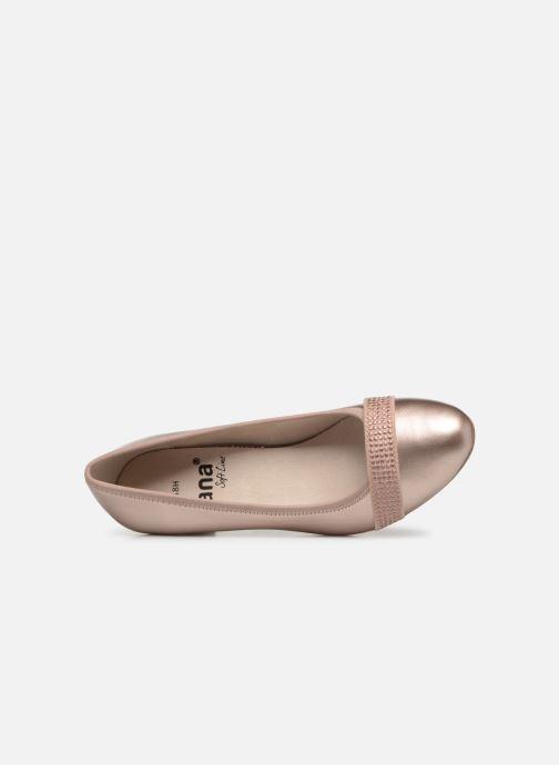 Escarpins Jana shoes Balana Rose vue gauche