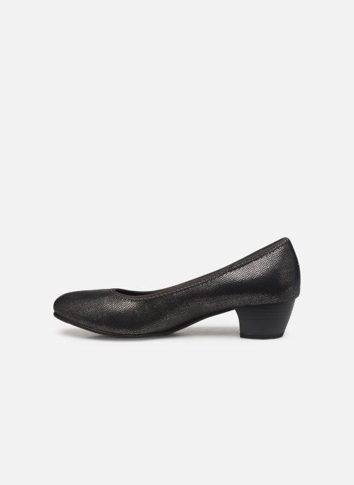 Pumps Jana shoes Danina Grijs voorkant