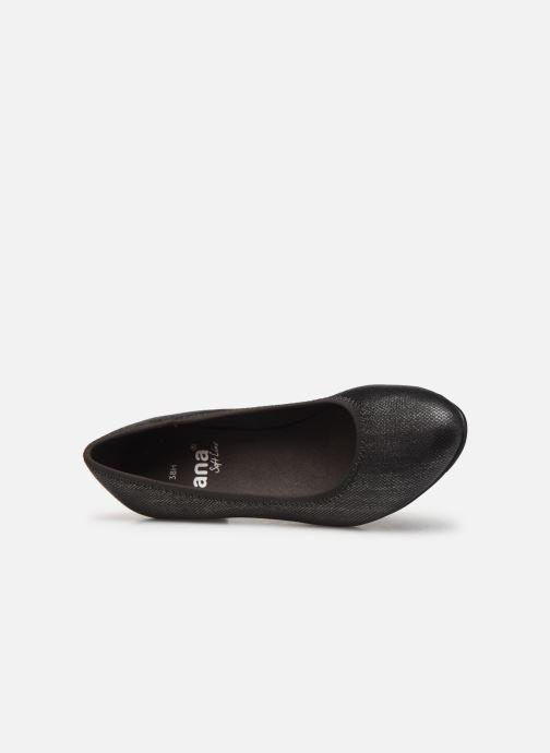 Pumps Jana shoes Danina grau ansicht von links