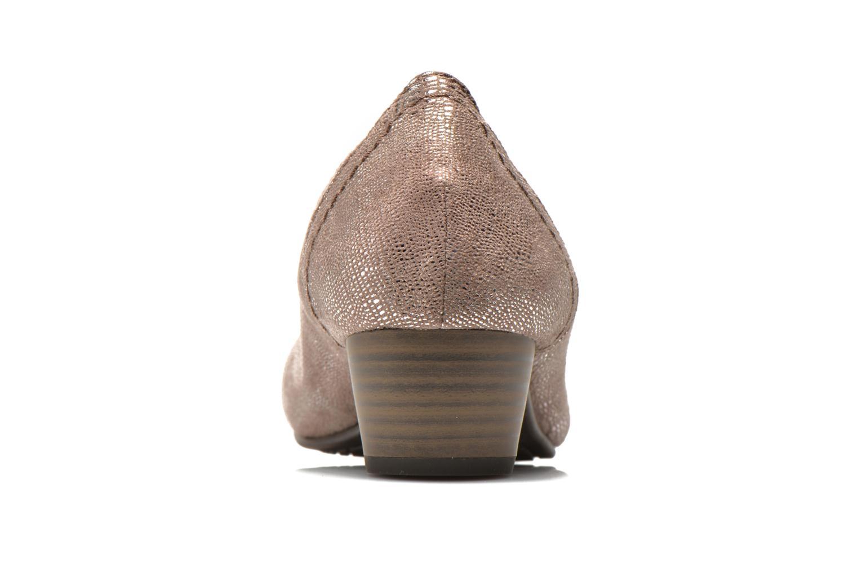 Pumps Jana shoes Danina beige ansicht von rechts