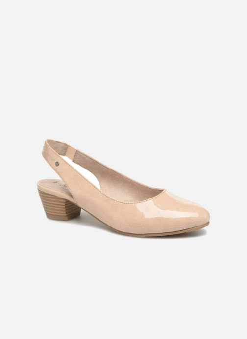 High heels Jana shoes Orina Beige detailed view/ Pair view