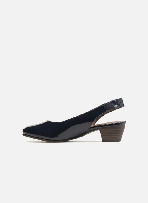 Escarpins Jana shoes Orina Bleu vue face