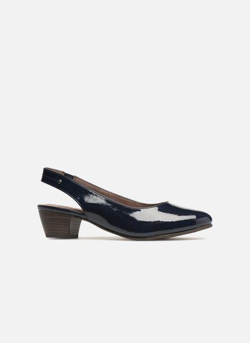 Escarpins Jana shoes Orina Bleu vue derrière