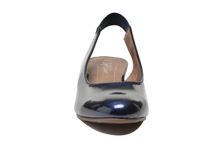 Escarpins Jana shoes Orina Bleu vue portées chaussures