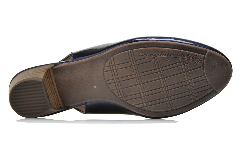 Escarpins Jana shoes Orina Bleu vue haut
