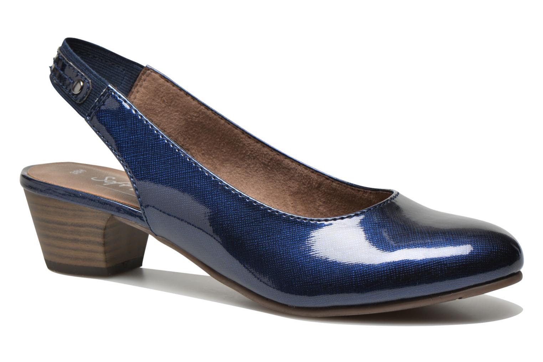 Escarpins Jana shoes Orina Bleu vue détail/paire