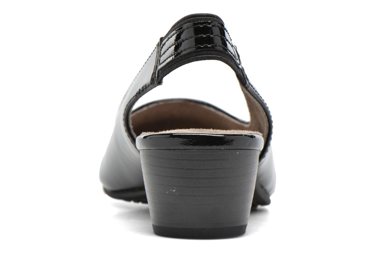 Escarpins Jana shoes Orina Noir vue droite