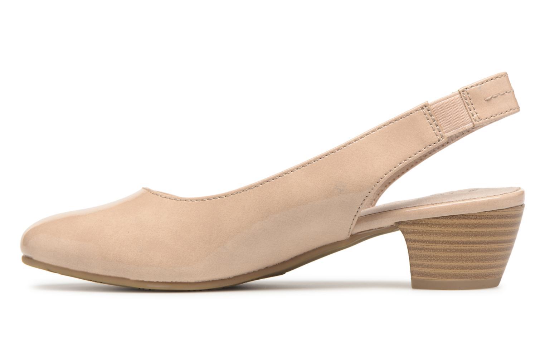 Pumps Jana shoes Orina Beige voorkant