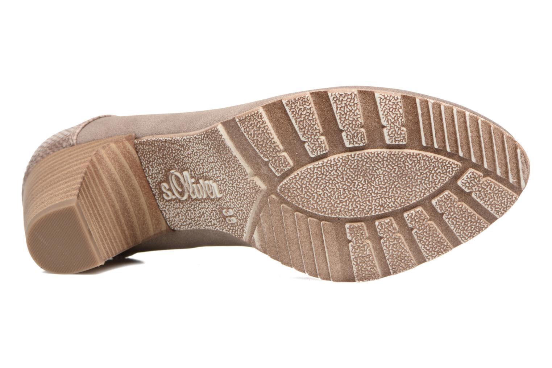 Zapatos de tacón S.Oliver Nyelle Marrón vista de arriba