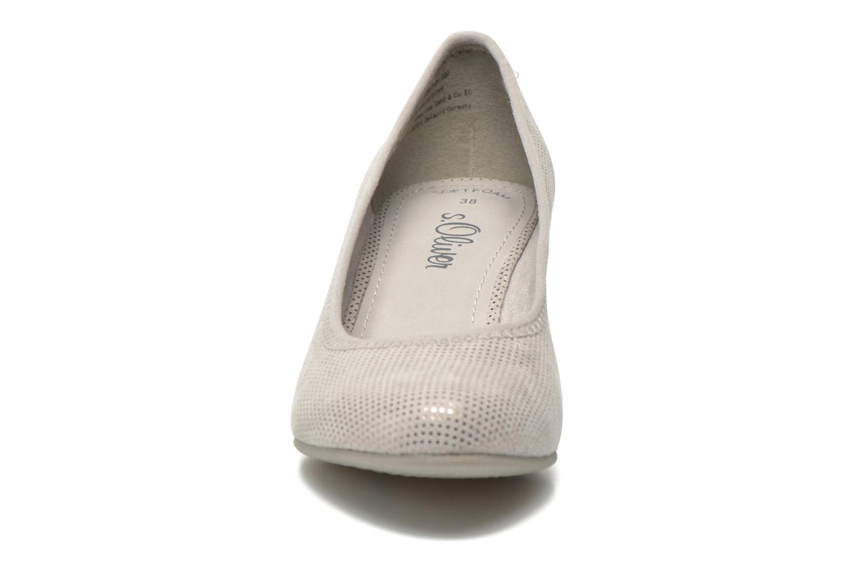 Escarpins S.Oliver Sabala Gris vue portées chaussures