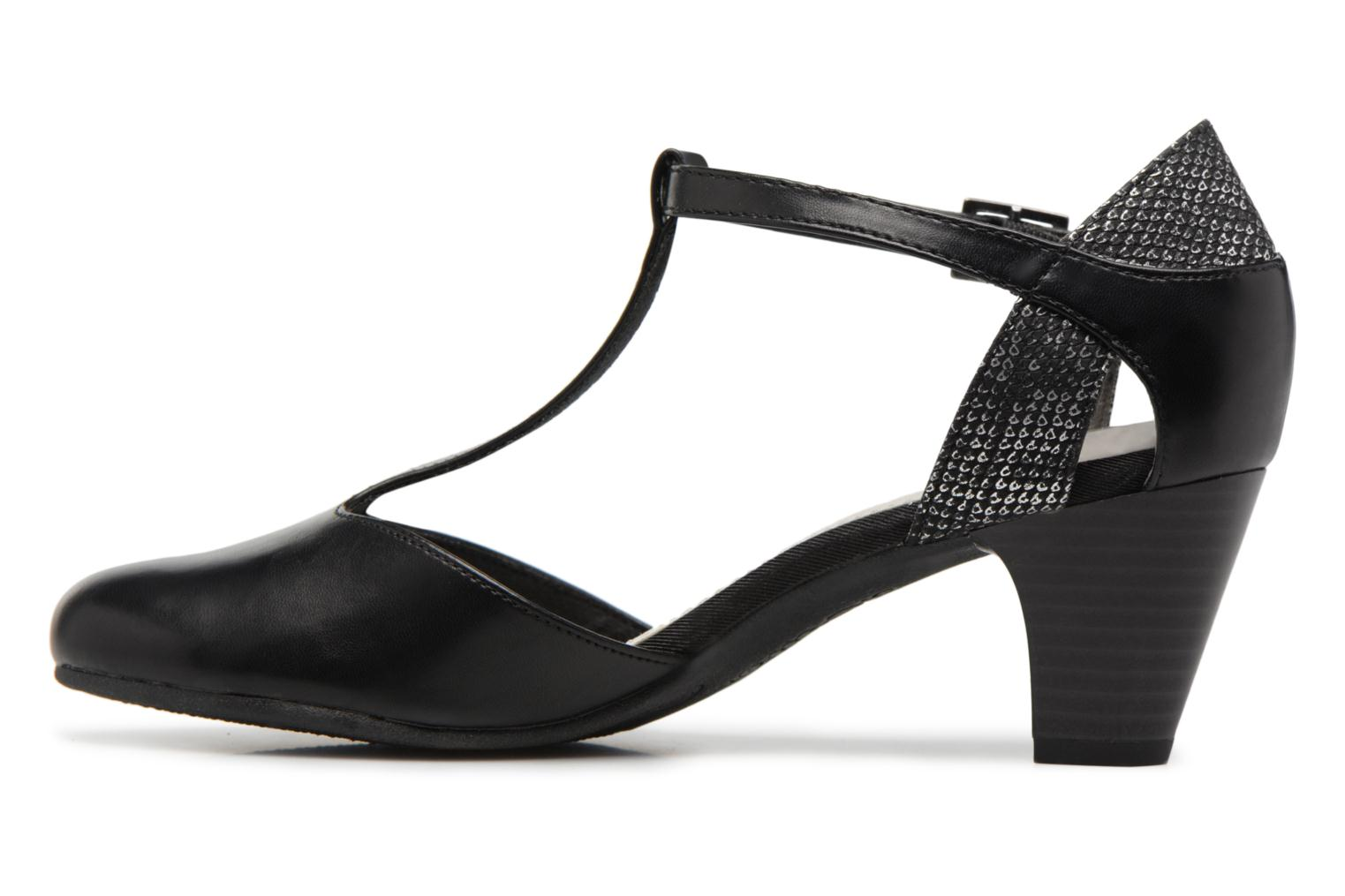 High heels S.Oliver Danoa Black front view