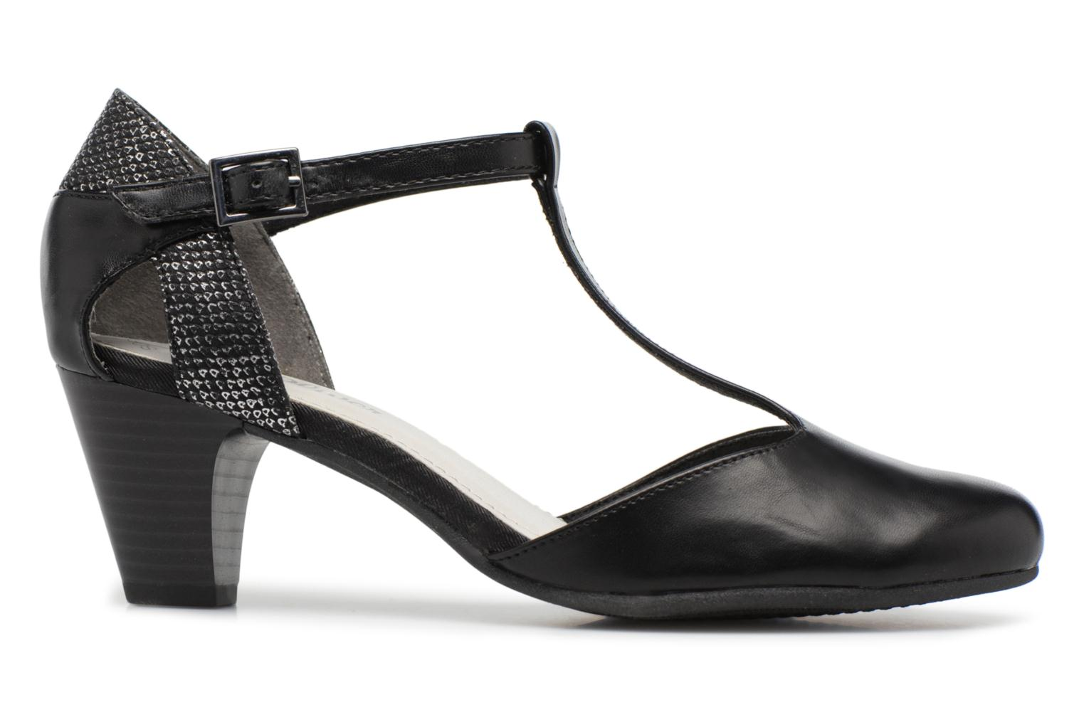 High heels S.Oliver Danoa Black back view