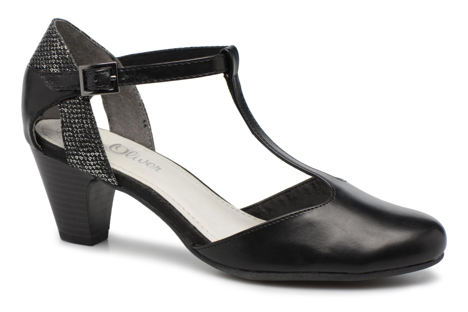 High heels S.Oliver Danoa Black detailed view/ Pair view