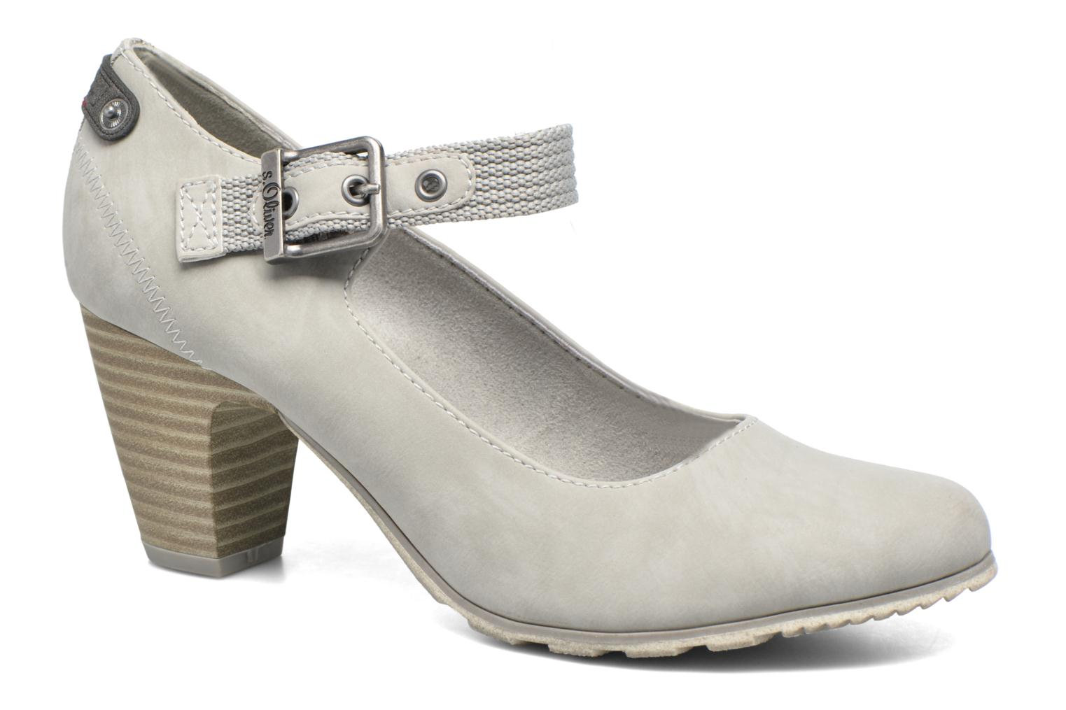 High heels S.Oliver Leby Grey detailed view/ Pair view