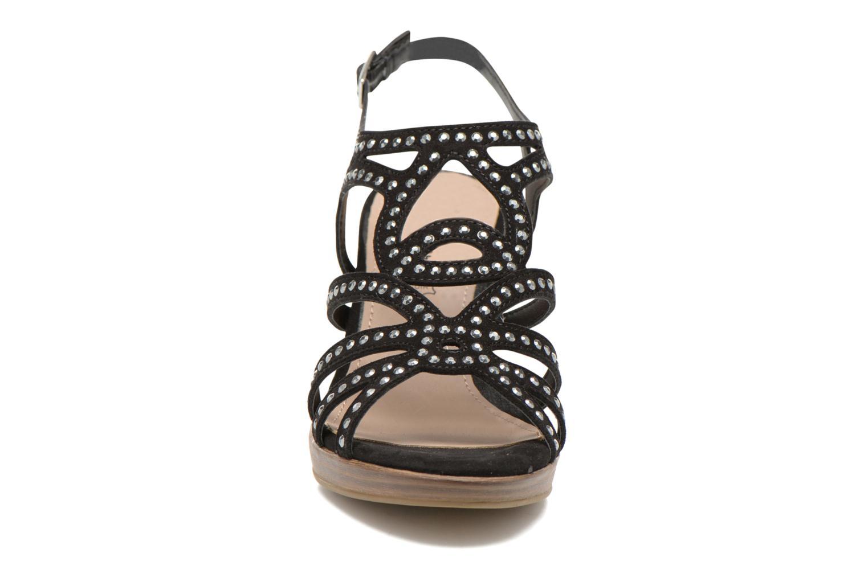 Sandales et nu-pieds S.Oliver Jiloa Noir vue portées chaussures