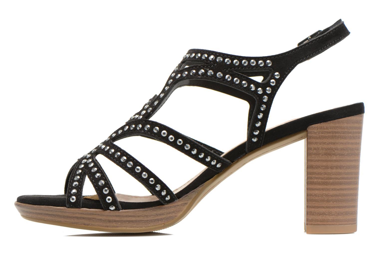 Sandales et nu-pieds S.Oliver Jiloa Noir vue face