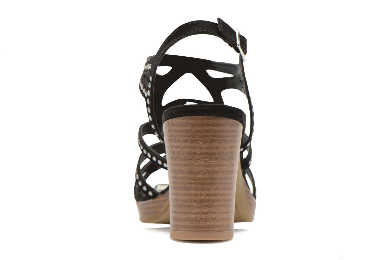 Sandales et nu-pieds S.Oliver Jiloa Noir vue droite