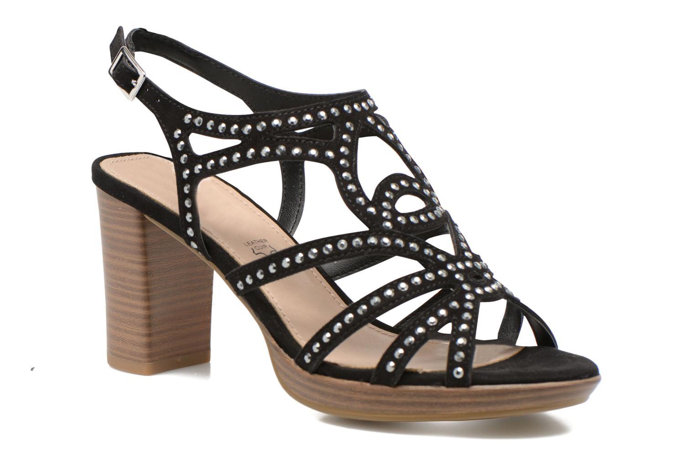 Sandales et nu-pieds S.Oliver Jiloa Noir vue détail/paire