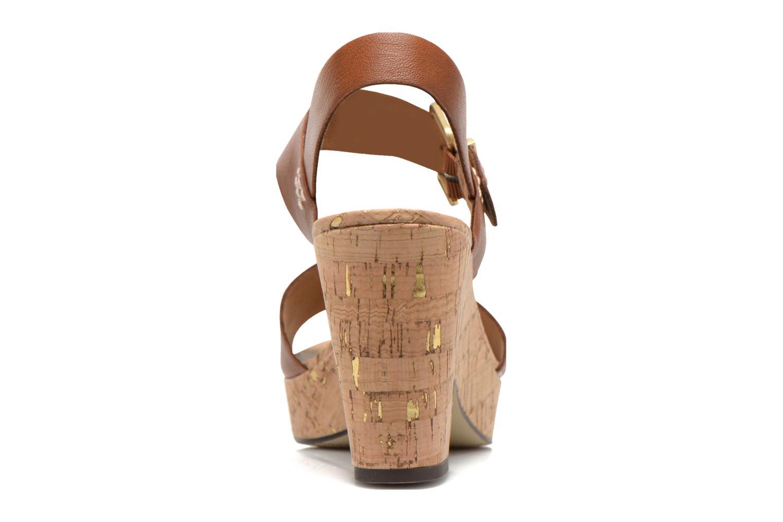 Sandales et nu-pieds S.Oliver Cabuta Marron vue droite