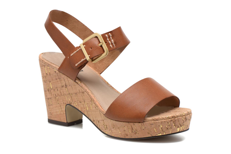 Sandales et nu-pieds S.Oliver Cabuta Marron vue détail/paire