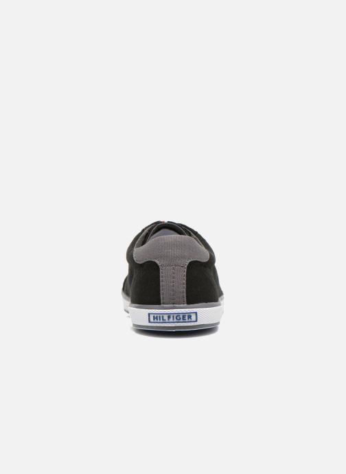 Sneaker Tommy Hilfiger Harlow 1D schwarz ansicht von rechts