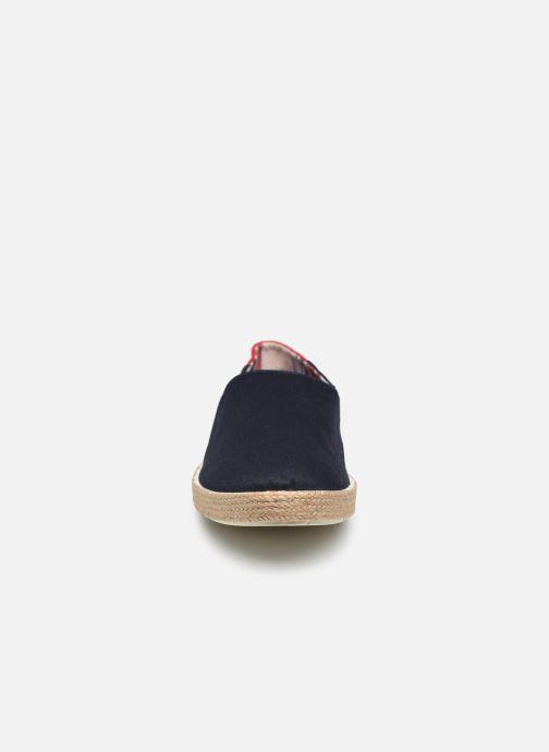 Espadrilles Tommy Hilfiger Granada 2D_1 Bleu vue portées chaussures